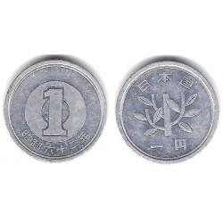 (Y74) Japón. 1987(62). 1 Yen (MBC)