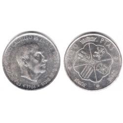 Estado Español. 1966*(19-68). 100 Pesetas (EBC+) (Plata)