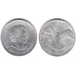 Canada. 2014. 5 Dollars (EBC) (Plata)