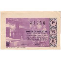 Décimo. 25 de Enero de 1965. Ruta del Quijote, Venta Castellana
