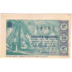Décimo. 5 de Febrero de 1965. Ruta del Quijote, Molines de Viento
