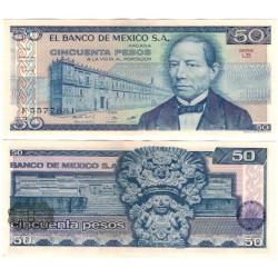 (73) Estados Unidos Mexicanos. 1981. 50 Pesos (EBC+)