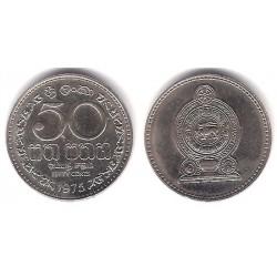 (135.1) Sri Lanka. 1975. 50 Cents (SC)