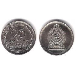 (141.1) Sri Lanka. 1975. 25 Cents (SC)