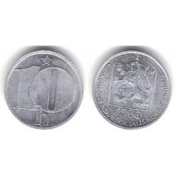 (80) Checoslovaquia. 1980. 10 Haleru (SC)