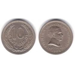 (35) Uruguay. 1953. 10 Centesimos (MBC)