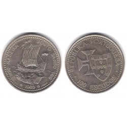 (647) Portugal. 1989. 100 Escudos (EBC)