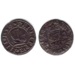 Felipe IV. 1663. 16 Maravedi (RC+) Ceca de Madrid Y