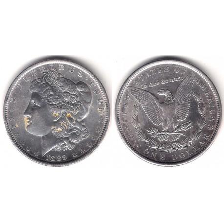 (110) Estados Unidos de América. 1889. 1 Dollar (EBC) (Plata)