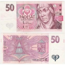 (17a) República Checa. 1997. 50 Korun (EBC)