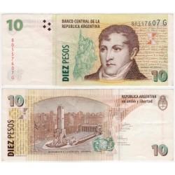 (354) Argentina. 2003. 10 Pesos (EBC-)