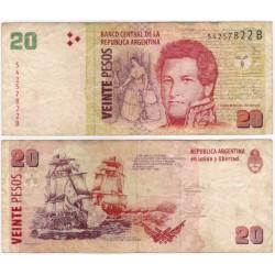 (355) Argentina. 2003. 20 Pesos (BC)