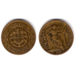 (575) Portugal. 1926. 50 Centavos (MBC)