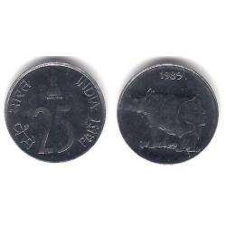 (54) India. 1989. 25 Paise (SC)