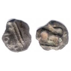 Gallia de Bélgica. Siglo I a.C. Potin-Sequani (BC+)