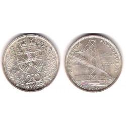 (592) Portugal. 1966. 20 Escudos (SC) (Plata)