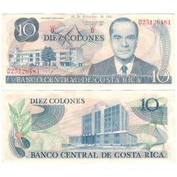 (237b) Costa Rica. 1981. 10 Colone (EBC-)