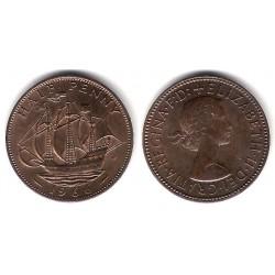 (896) Gran Bretaña. 1966. Half Penny (EBC)