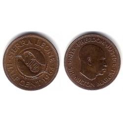 (16) Sierra Leona. 1964. Half Cent (MBC)