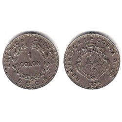 (186.3) Costa Rica. 1975. 1 Colon (MBC)