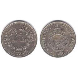 (188.1) Costa Rica. 1978. 25 Céntimos (MBC)