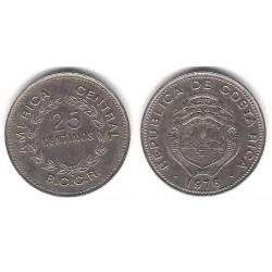 (188.1) Costa Rica. 1976. 25 Céntimos (MBC)