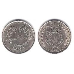 (185.2) Costa Rica. 1976. 10 Céntimos (SC)