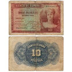 España. 1935. 10 Pesetas (RC) Serie B