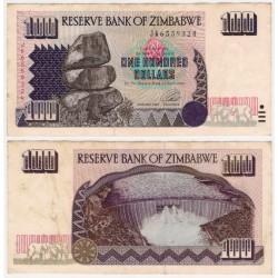 (9a) Zimbabue. 1995. 100 Dollars (MBC-)