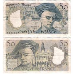 (152e) Francia. 1991. 50 Francs (BC)