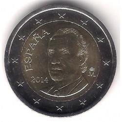 España. 2014. 2 Euro (SC)