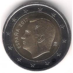 España. 2017. 2 Euro (SC)