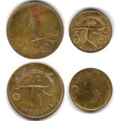 La Hispano Suiza. 1 Peseta y 50 Céntimos (MBC)
