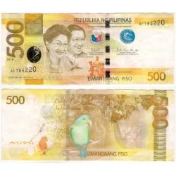 (210) Filipinas. 2019. 500 Piso (MBC)