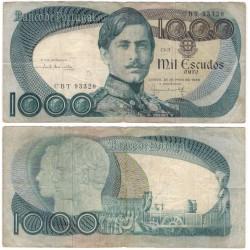 (175a) Portugal. 1968. 1000 Escudos (BC)