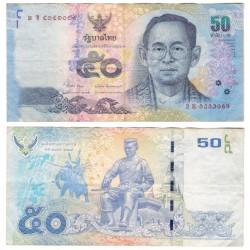 Tailandia. 2011-16. 50 Baht (BC)