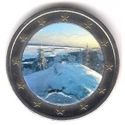 Finlandia. 2018. 2 Euro (SC) Coloreada