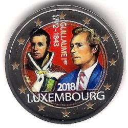Luxemburgo. 2018. 2 Euro (SC) Coloreada