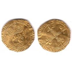 Luis XII. 1462-1515. 1 Ecu (MBC) (Oro)