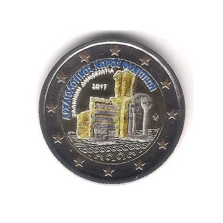 Grecia. 2017. 2 Euro (SC) Coloreada