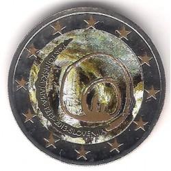 Eslovenia. 2013. 2 Euro (SC) Coloreada
