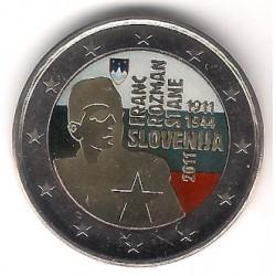 Eslovenia. 2011. 2 Euro (SC) Coloreada