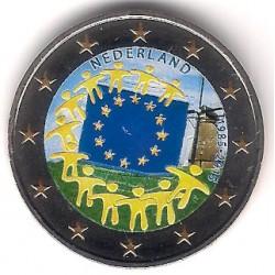 Países Bajos. 2015. 2 Euro (SC) Coloreada