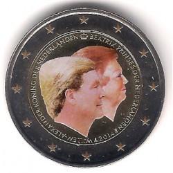 Países Bajos. 2014. 2 Euro (SC) Coloreada