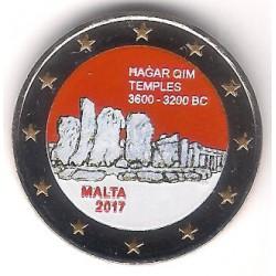Malta. 2017. 2 Euro (SC) Coloreada