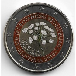 Eslovenia. 2010. 2 Euro (SC) Coloreada