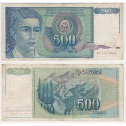 Yugoslavia. 1990. 500 Dinara (BC+)