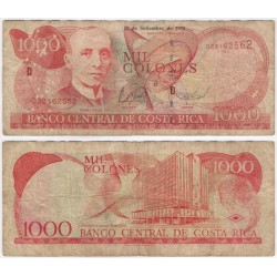 (264b) Costa Rica. 1998. 1000 Colones (RC)