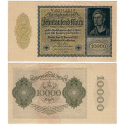(72) Imperio Aleman (Weimar). 1922. 10000 Mark (EBC)