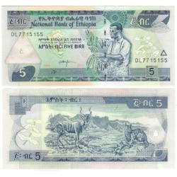 (47) Etiopia. 2017. 5 Birr (SC)
